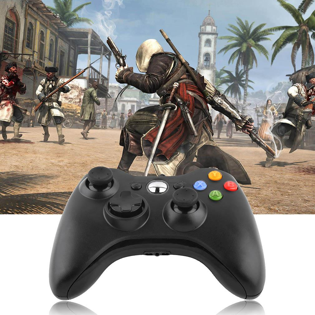 1pc Black USB Wired Game Controller Game pad Joypad Joystick For Xbox 360 Slim Accessory PC Computer For Windows 7 8 Wholesale(China (Mainland))