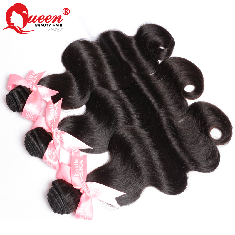Indian Virgin Hair Body Wave 3Pcs Lot Grace Hair Products Human Hair Weave Wavy 6A Unprocessed Virgin Indian Hair(China (Mainland))