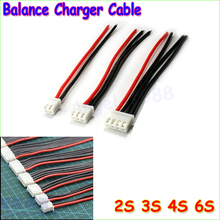 5pcs/lot 2S 3S 4S 5S 6S Lipo Battery Balance Charger Cable IMAX B6 Connector Plug Wire Wholesale(China (Mainland))