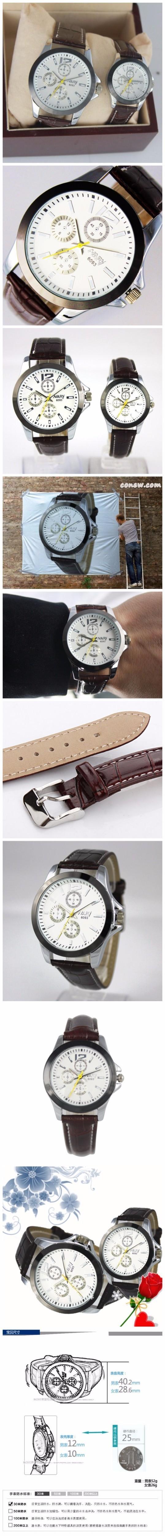 2016 NARY Известный Бренд Кварцевые Мужские Часы Лучший Бренд Luxury Пары Кварцевые часы Часы Кожаный Ремешок Женщин Наручные часы Relogio
