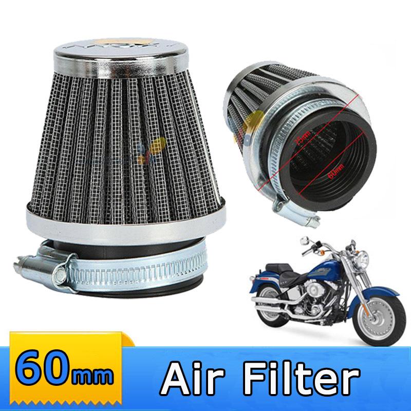 Universal ATV Air Filter New Clamp-on 60mm Motorcycle Air Filter Cleaner For Yamaha Kawasaki Suzuki(China (Mainland))