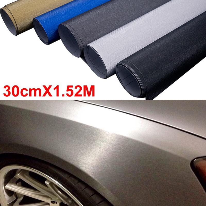 30 152cm newest car styling pvc adhesive vinyl wrap - Decoration murale auto adhesive ...