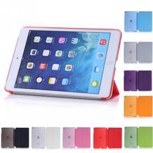 For iPad Mini Retina Original Baseus Simplism Series Wake Up Fold Stand Leather Case Smart Cover For iPad Mini 1 2 3 Retina(China (Mainland))