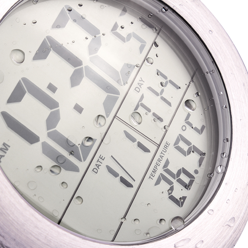Latest design salle de bain ventouse horloge montre horloge with horloge salle de bain design - Horloge salle de bain design ...