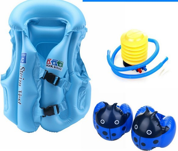 S M L Swim Vest Life Jackets Kids Inflatable Life Vest for Fishing Children Water Sport Floating Clothing Swimming Safety(China (Mainland))