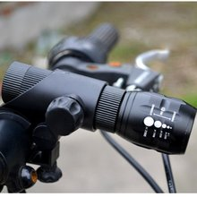 ใหม่ไฟจักรยานที่มีคุณภาพสูงนำCree Bycicle L Lightความปลอดภัยใช้16850อุปกรณ์จักรยานไฟ+ผู้ถือคบเพลิง
