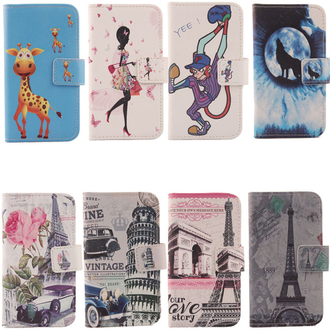 For Utime Smart PDA S55 High Quality Flip Cover Skin Pouch With Card Slot Luxury PU Leather Case Phone Case Colorful(China (Mainland))