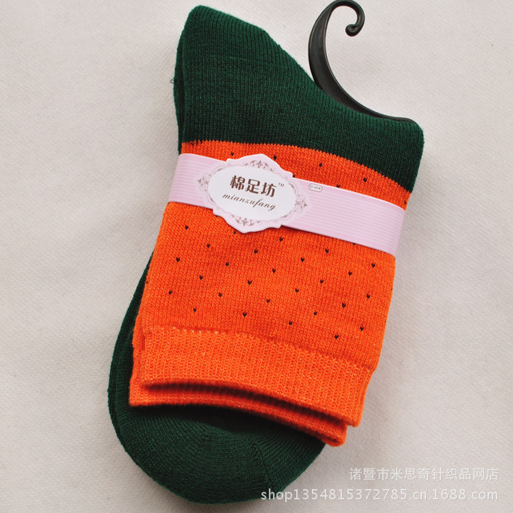 Picking thick warm autumn and winter socks towel national wind comfort system manufacturers, wholesale socks Zhuji(China (Mainland))