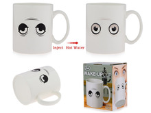 "201-300ml blink eyes Fred and Friends Wake-Up Cup Coffee Milk Tea Mug with box Christmas Gift ""Wake up your cup """