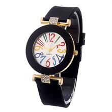Top Luxury Brand Silicone Watches Ladies Quartz Watch Women Casual Clock Female Summer Style Fashion Bracelet Montre Femme XH115(China (Mainland))