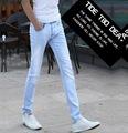 Aliexpress 2016 summer new England influx men hot sale Youth popular Slim bleach Business Leisure men