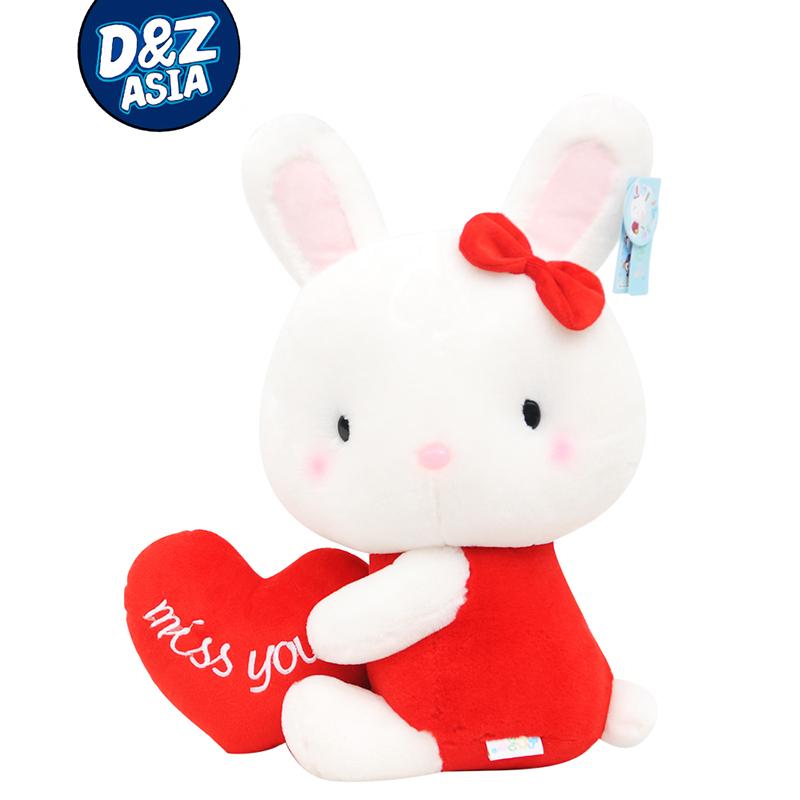 Pernyess wedding long ears bunny lovely plush Butterfly rabbit baby dolls Stuffed plush baby bed dolls,amazing gifts(China (Mainland))