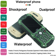 Car phone A11 Waterproof Shockproof Dustproof Mobile Phone Dualband 2.2″ Unlocked TV Phone Dual Sim card A8i A8s L8 A8N A9N P376
