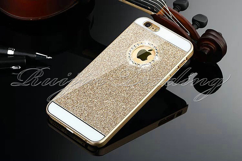 """For Apple iPhone 6 4.7"""" Ultra Slim Silicone Bling Diamond Sparkle Glitter Cell Phone Back Cases Cover(China (Mainland))"""