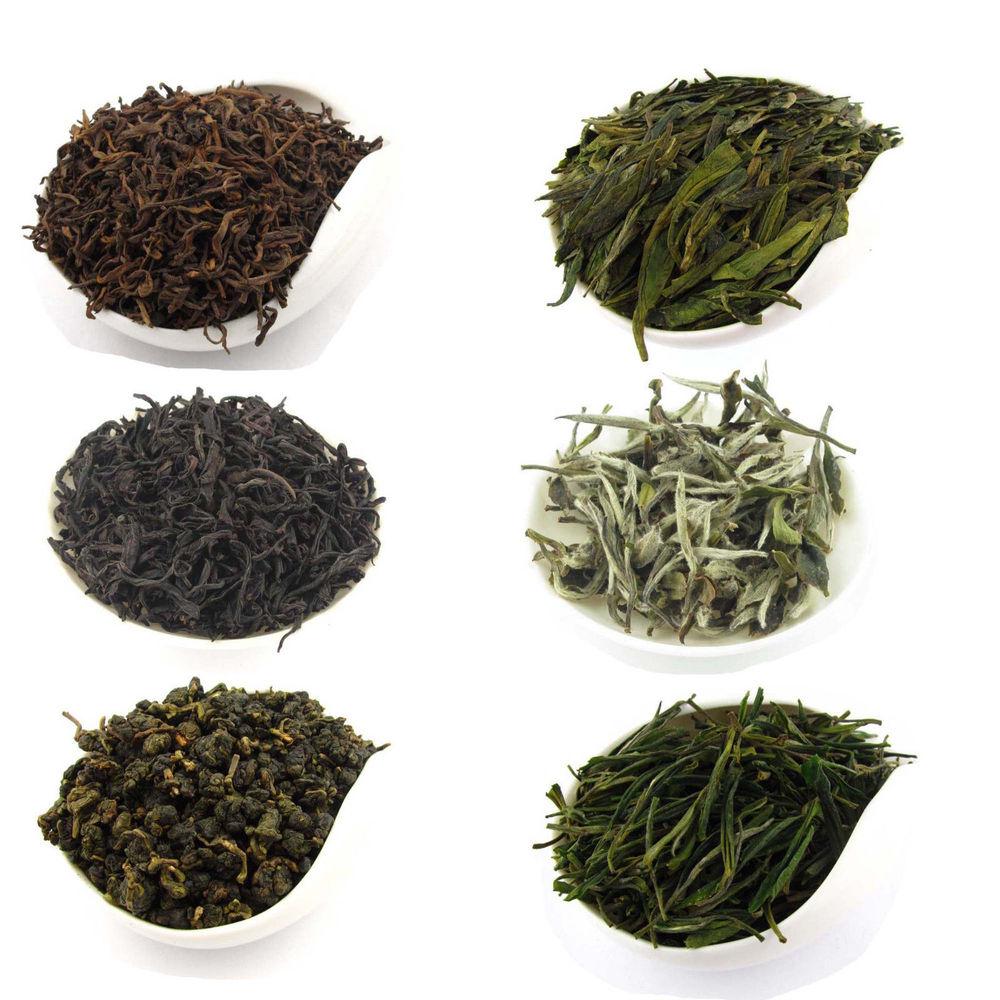 100g 100g  6 Types Basic Tea White Tea Green Tea Oolong Tea Pu-erh Tea Black Tea T146  Green Tea Free Shipping Chinese Black Tea<br><br>Aliexpress