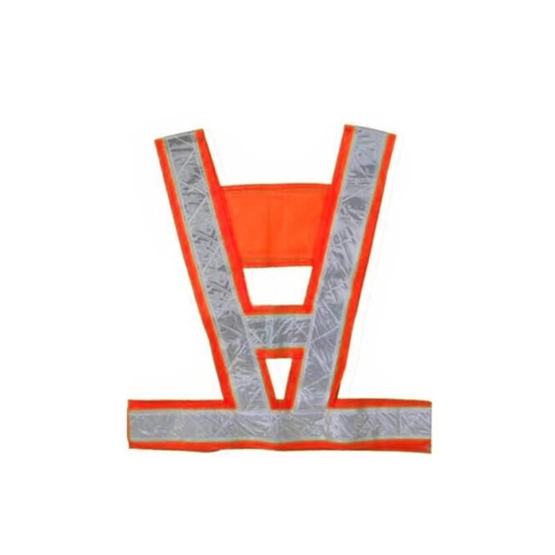 Высокая видимость светоотражающий жилет жилет куртка безопасности пальто привет Vis