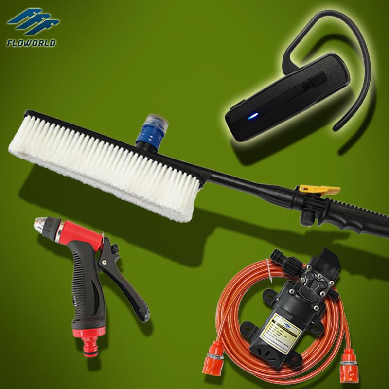 Intelligent 70W High Pressure Washer 12V Pressure Washer Car Wash Machine With Brush(China (Mainland))