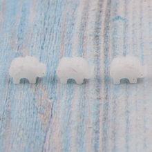 Fnixtar 樹脂合成オパール石ミニベビー象のペン(China)