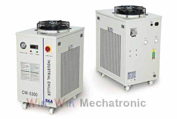 Co2 Laser Water Chiller CW5300 220V /110V Chiller 1800W cooling capacity(China (Mainland))