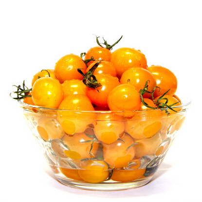 Yellow young pear tomatoes, tomato seeds, fruit seeds - 30 particles free Shipping(China (Mainland))