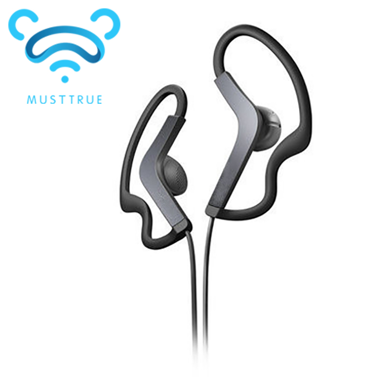 Wholesale 3.5mm sport Earphones Headphone Headset with mic For iPhone Samsung Xiaomi MP3, High quality Bass for running