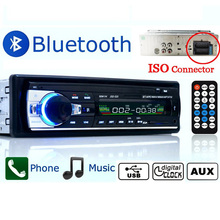 Autoradio Car Radio 12V Bluetooth V2.0 JSD520 Car Stereo In-dash 1 Din FM Aux Input Receiver SD USB MP3 MMC WMA Car Radio Player(China (Mainland))