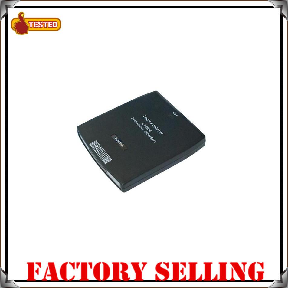 Hantek LA5034 LA 5034 500MHz 34 Channel PC USB Logic Analyzer Oscilloscope DHL EMS UPS fast shipping(China (Mainland))
