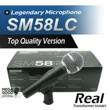 Free Shipping! Top Quality Version SM 58 58LC SM58LC Vocal Karaoke Handheld Dynamic Wired Microphone Real Transformer Inside Mic