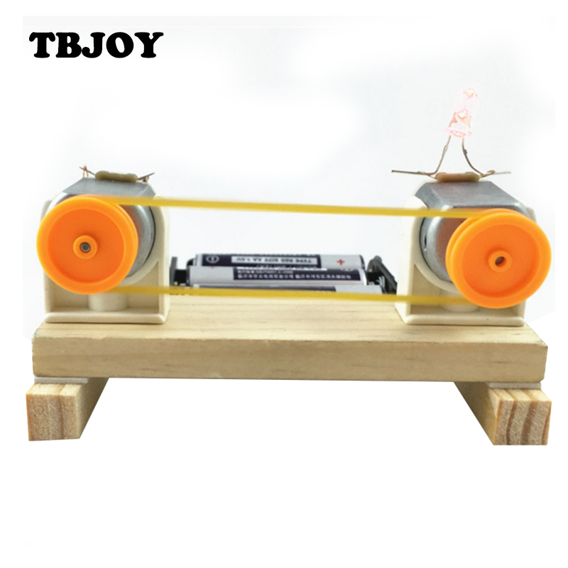 Children Educational Early Learning Science Technology Energy Conversion Experiment Model Building Kits Kids Toys Gifts(China (Mainland))