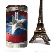 Original Cartoon Skin Art UV Printed Case For Asus Zenfone 2 5.5 inch ZE551ML ZE550ML Back Cover Case Hard Plastic Phone Cases