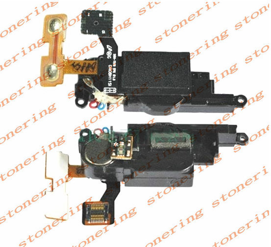 Vibrator Motor Volume Speaker Buzzer Ringer Flex Cable For Samsung T919 Behold Free shipping with tracking number(China (Mainland))