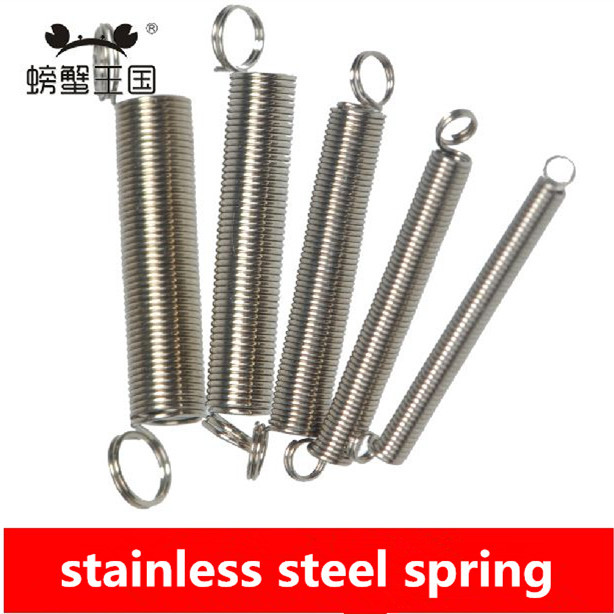 Small springs pcs stainless steel coil spring for diy