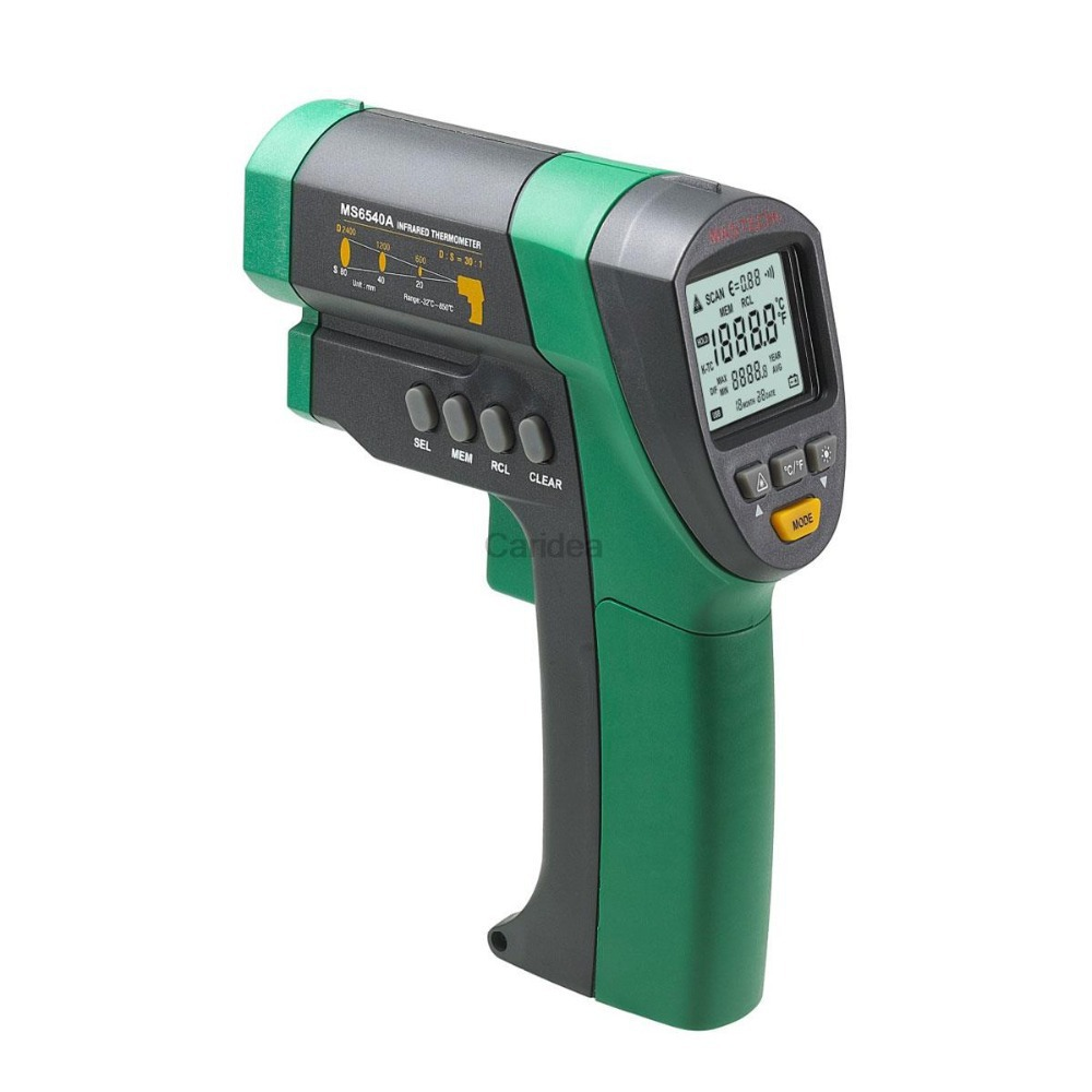 MASTECH MS6540A Auto Range Non-contact Infrared Thermometer IR Temperature Meter Tester -32C~850C D:S (30:1)(China (Mainland))