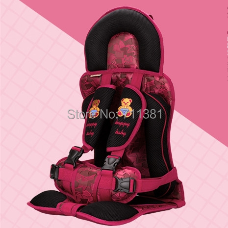 Baby Car Seat Cover Free Shipping From Baby Products Supplier Five-Points Fixation Type Material Sandwich Fabric Comfortable(China (Mainland))
