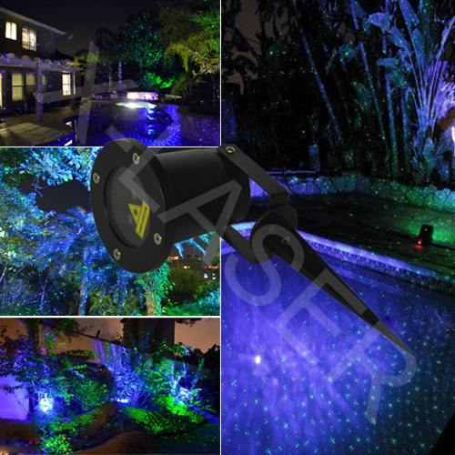 com buy star shower laser light outdoor christmas laser lights. Black Bedroom Furniture Sets. Home Design Ideas