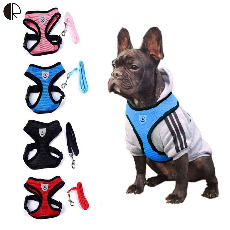 WholeSale Lovely Cute Small dog Harness Designer Pet Supplies Chihuahua Leash Lead Collar Set arnes perro Pet Shop dog HP742(China (Mainland))