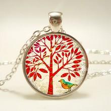 ต้นไม้สร้อยคอจี้ Wearabel Art Tree of Life(China)