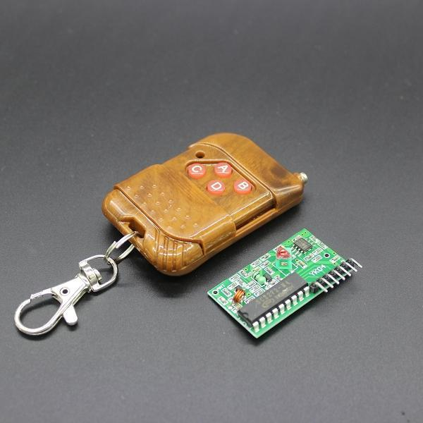 2pcs=1set IC 2262/2272 4 CH 315Mhz Key Wireless Remote Control Kits Receiver module For Arduino(China (Mainland))