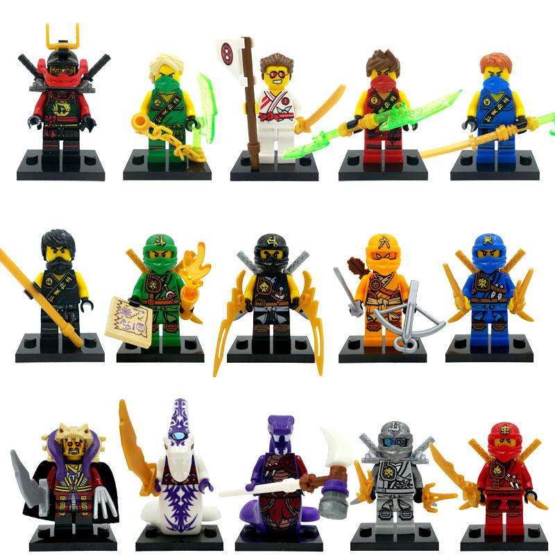 Lego Ninja Toys : Achetez en gros ninjago kai figure ligne à des