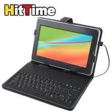 "Leather Case Jacket Skin USB Keyboard for 10"" Tablet PC #3063(China (Mainland))"