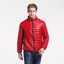 2015 New Fashion mens winter warm duck down jacket men Hit color outdoor coat ultra light double side casual coat jacket,JA494