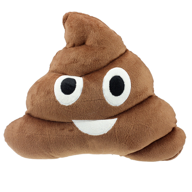 1PC big size Amusing Emoji Emotion Cushion Poo/Poop Shape Pillow Doll Toy Throw Pillow Smile pleasant design on sale(China (Mainland))