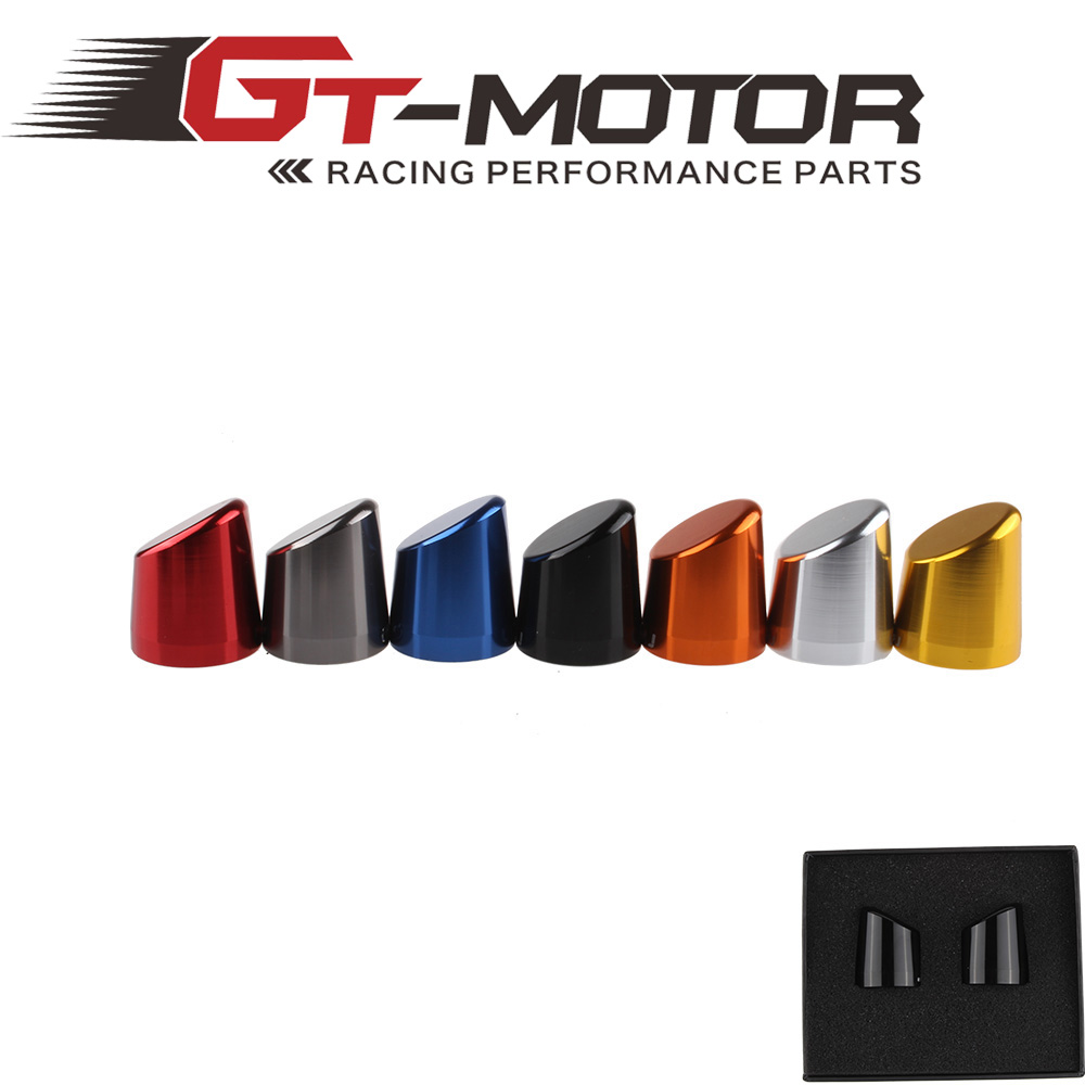 GT Motor - UNIVERSAL MOTORCYCLE 22mm HANDLEBAR END CAPS MA520<br><br>Aliexpress