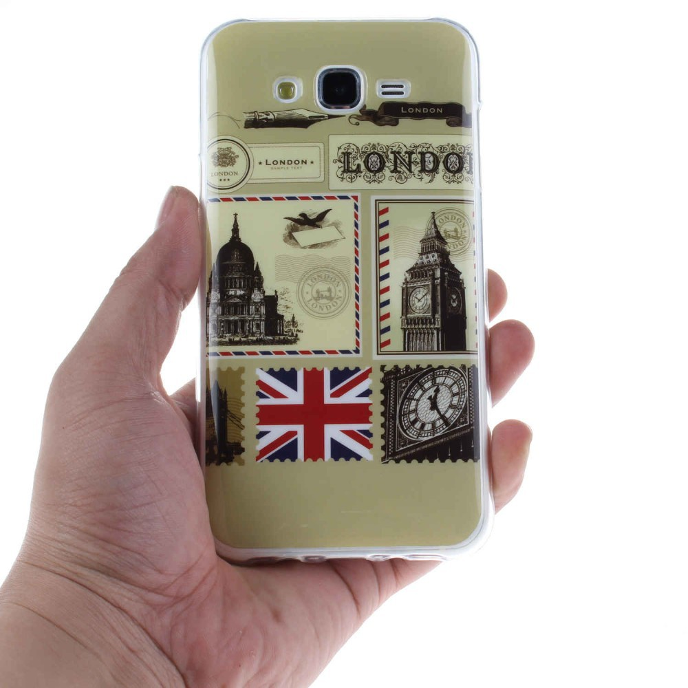 For Samsung Galaxy J7 TPU soft case Clear Mobile Back Shell Protective Phone Accessory For Samsung Galaxy J7 Thin Cover