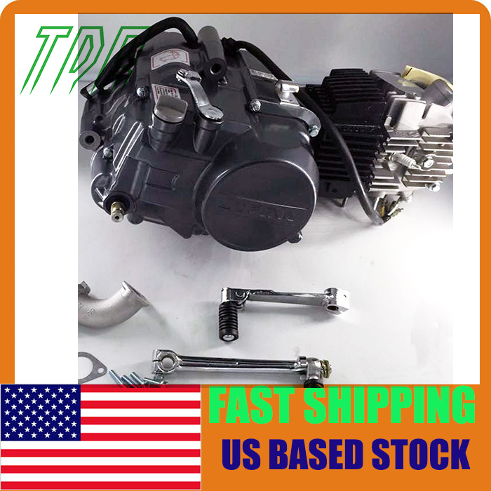 Stock in usa ! only 3pcs left ! 140cc LIFAN HIGH DUTY Engine 4-Stroke Engine Motor kick start PIT QUAD DIRT ATV(China (Mainland))