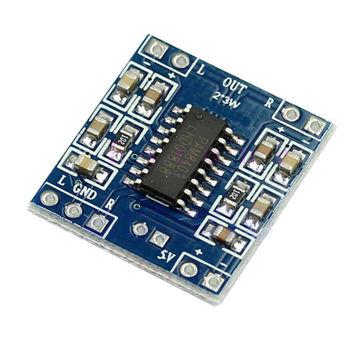 Free Shipping 5pcs/lot DC 5V 2 Channels 3W Digital Power D Audio Amplifier Board Amplifier Module New
