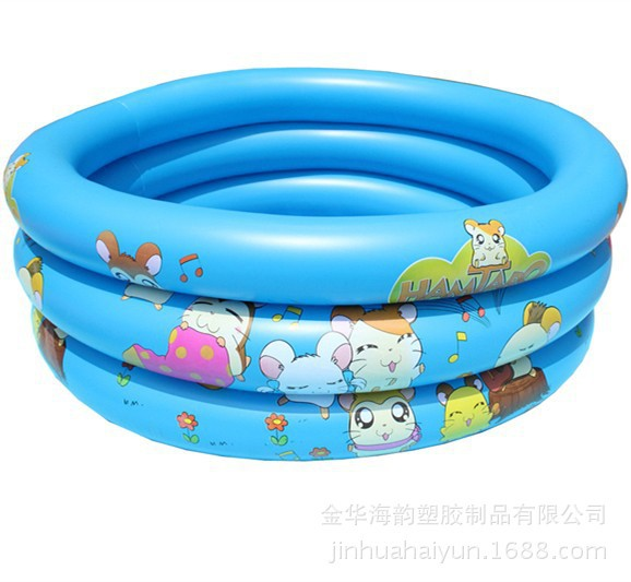 2015 special hot tricyclic thick green PVC children water inflatable swimming pool baby bath(China (Mainland))