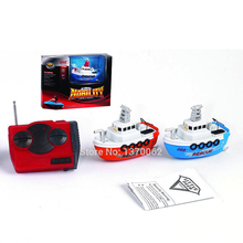 Funny And Cute New RC Speedboat MIni Radio Remote Control RC Boats 4 Colors Electric Toys Model Ship Children Gift RC Ship(China (Mainland))