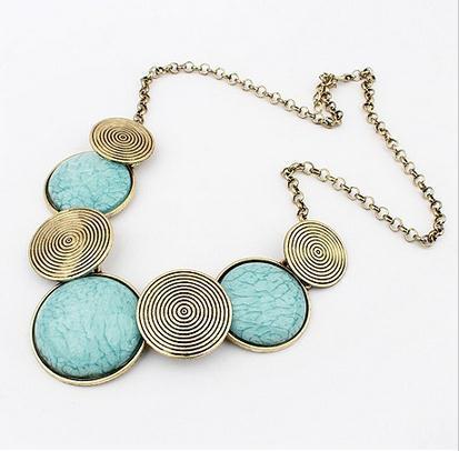 Гаджет  Min order is 10usd ( Mix order ) 41C40 Fashion Retro hot sale bubble necklace choker Free Shipping----Lady shop None Ювелирные изделия и часы