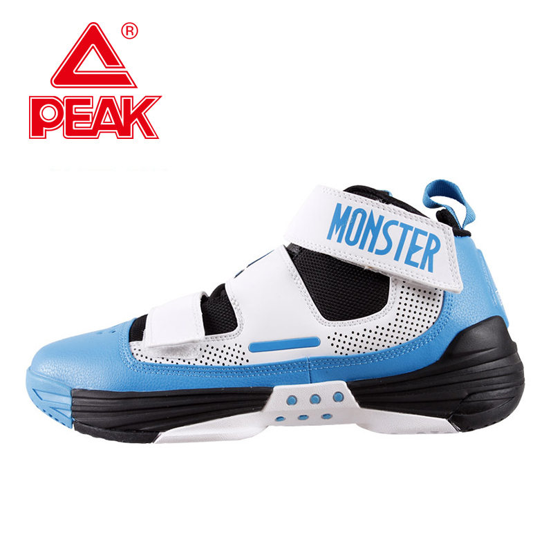 PEAK SPORT Monster III Men Basketball Shoes FOOTHOLD Tech Breathable Athletic Boots Durable Rubber Outsole Training Sneakers(China (Mainland))